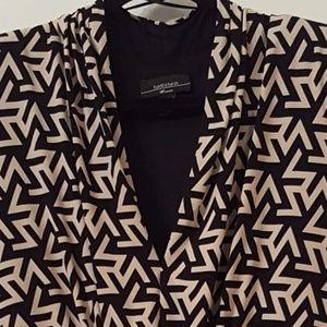 R&M Richards woman 20W dress. 3/4 sleeves size zip